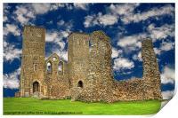 Reculver Castle - Kent, Print