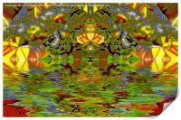Butterfly Kaleidoscope, Print