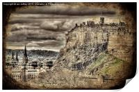 Edinburgh Castle, Print