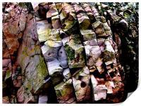 Coloured rocks, Print