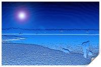 Blue Solent, Print