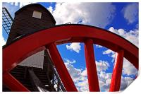 Pitstone Windmill, Print
