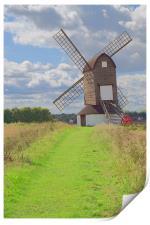 Windmill, Print