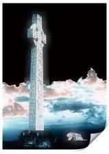 Celtic Cross, Print