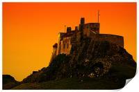 Lindisfarne Castle, Print