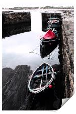 Beadnell Harbour, Print