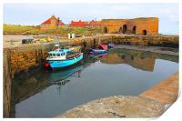 Beadnell Harbour, Print