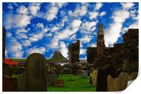 Lindisfarne, Print