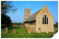 Thatched Church, Print