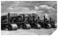 Steam Rollers, Print