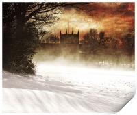 St lukes in the snow, Print