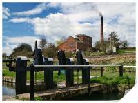 Crofton beam engines, Print