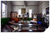 Victorian classroom, Print
