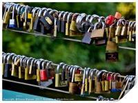 Love Locks, Print