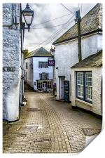 Fore Street Port Isaac, Print