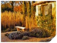 Le Jardin de Vincent 2, Print