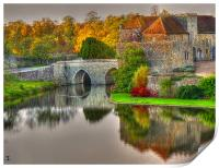 GateHouse In Autumn