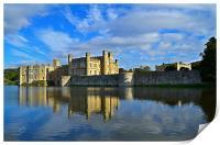 Leeds Castle, Print