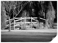 Across The Bridge, Print