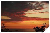 At Sunset #2, Print