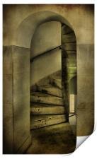 spiral staircase 2, Print