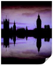 Purple London, Print