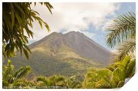 volcan Arenal Costa Rica, Print