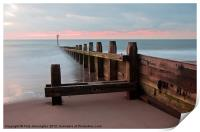 Dawlish Warren at Dawn, Print