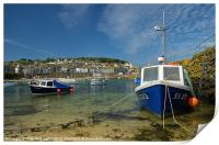 Mousehole in Cornwall, Print