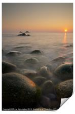 Porth Nanven - Cornwall, Print