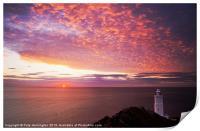 Sunrise at Start Point, Print