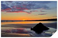 Sunset at Porthcawl, Print