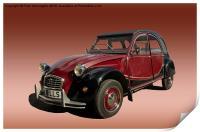 Iconic car, Print