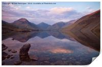 Twilight at Wastwater in Cumbria, Print