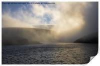 Meldon Reservoir on Dartmoor, Print