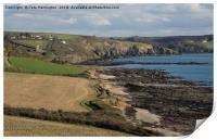 Wembury Bay in Devon, Print