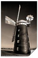 Pakenham Windmill, Print