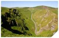 Winnats Pass Derbyshire., Print