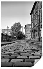 Albert Street, Saltaire, Print