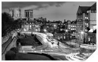 Busy York, Print