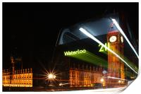 The Waterloo 211 Bus, Print