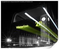 Waterloo 211 Ghost Bus, Print