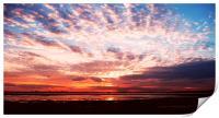 Sunset, Print