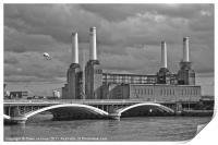 Pink Floyd's Pig, Battersea, Print
