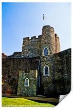 Lewes Castle, Print