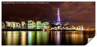 The Shard Lasers, Print