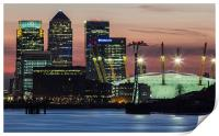 London Docklands, Print