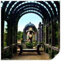 Arundel Garden Arch, Print