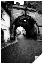 Through the Archway, Print
