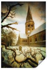 St Barnabas, Print